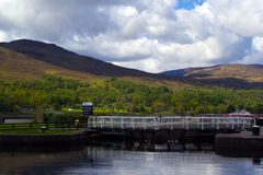 Caledonian Canal Royalty Free Stock Photo