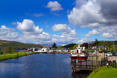 Caledonian Canal Royalty Free Stock Images