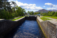 Caledonian Canal Stock Images