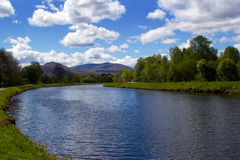 Caledonian Canal Stock Photo