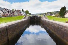 Caledonian canal Fort Augustus Scotland UK Royalty Free Stock Photos