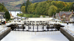 Caledonian Canal, Fort Augustus Royalty Free Stock Photos