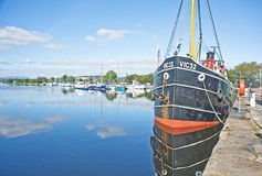 Caledonian Canal and Muirtown Marina Inverness. Stock Photos
