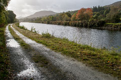 Caledonian Channel Stock Photography