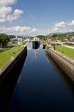 caledonian kanal Arkivfoton