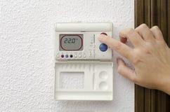 Calefacción de casa y enfriamiento fotos de archivo libres de regalías