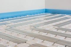 Calefacción de piso Imagen de archivo libre de regalías