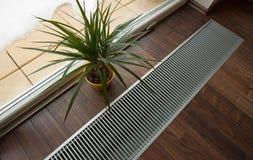 Calefacción de suelo Foto de archivo libre de regalías