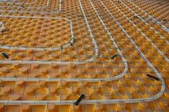Calefacción por el suelo Fotografía de archivo libre de regalías