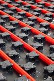 Calefacción por el suelo foto de archivo libre de regalías