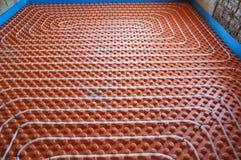 Calefacción por el suelo Fotos de archivo