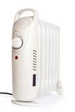 Calefator elétrico costal no petróleo Em um fundo branco Imagem de Stock