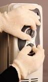 Calefator home do ajuste Imagem de Stock Royalty Free