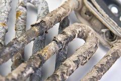 Calefatores elétricos obsoletos Foto de Stock Royalty Free