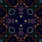 Caleidoscópio à moda Imagem de Stock Royalty Free