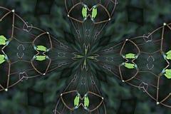 Caleidoscópio Foto de Stock