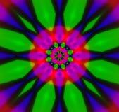 Caleidoscópio abstrato Imagem de Stock Royalty Free