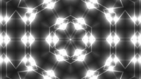 Caleidoscópio abstrato da simetria - o fractal ilumina-se, 3d rende o contexto, computador que gera o fundo ilustração royalty free