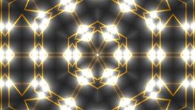 Caleidoscópio abstrato da simetria - o fractal ilumina-se, 3d rende o contexto, computador que gera o fundo ilustração do vetor