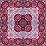 Caleidoscópio abstrato ou teste padrão infinito Fotografia de Stock Royalty Free