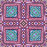 Caleidoscópio abstrato ou teste padrão infinito Fotos de Stock Royalty Free