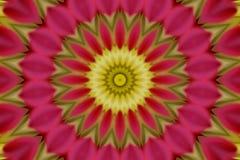 Caleidoscópio cor-de-rosa abstrato Imagem de Stock