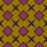 Caleidoscópio da textura sem emenda Ilustração Royalty Free