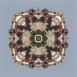 Caleidoscópio, quadrado, textura, teste padrão, simetria, fundo, sumário, papel de parede, abstração, textured, repetitivo, geomé Fotografia de Stock Royalty Free