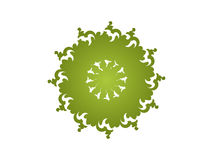 Caleidoscópio - verde Fotos de Stock