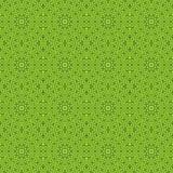 Caleidoscópio verde da simetria do fundo do teste padrão backdrop ilustração royalty free