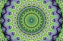 Caleidoscoop abstract ornament Royalty-vrije Stock Foto