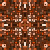 Caleidoscoop naadloze geometrische patronen Royalty-vrije Stock Foto