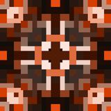 Caleidoscoop naadloze geometrische patronen Stock Afbeelding
