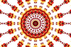 Caleidoscoop van kleur en patroon Royalty-vrije Stock Foto