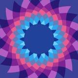 Caleidoscope花生动的颜色背景 免版税图库摄影