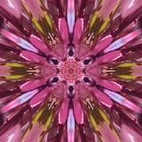 Caleidoscopio abstracto Imagen de archivo libre de regalías