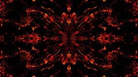 Caleidoscopio abstracto hermoso de la simetr?a, contexto de la representaci?n 3d, generaci?n del ordenador stock de ilustración