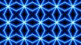 Caleidoscopio astratto fondo di tecnologia della rappresentazione 3d archivi video