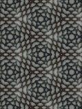 Caleidoscopio dalle linee circolari Fotografia Stock