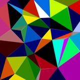 Caleidoscopio del ejemplo del color Fotografía de archivo