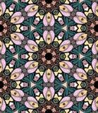 Caleidoscopio del mosaico del fiore Fotografia Stock