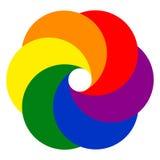 Caleidoscopio del video dello studio della foto del modello di logo Immagine Stock Libera da Diritti