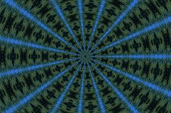 Caleidoscopio esmeralda Imagen de archivo libre de regalías