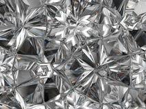 Caleidoscopio estremo del primo piano della struttura preziosa del diamante Fotografia Stock Libera da Diritti