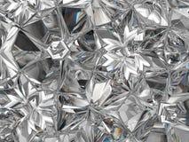 Caleidoscopio estremo del primo piano della struttura preziosa del diamante Immagini Stock
