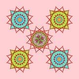 Caleidoscopio floral Imagenes de archivo
