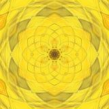 Caleidoscopio giallo royalty illustrazione gratis