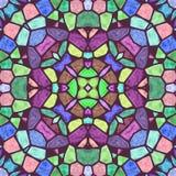 Caleidoscopio hermoso del color Imagen de archivo libre de regalías