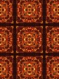 Caleidoscopio luminoso di Natale Fotografie Stock