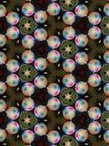 Caleidoscopio luminoso di Natale Immagine Stock
